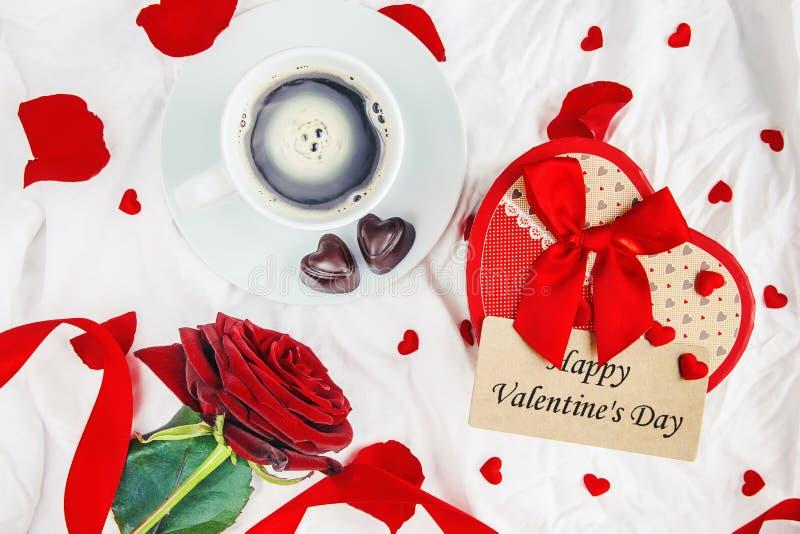 Happy Valentine`s Day. Love. Happy Valentine`s Day. Selective focus stock photo