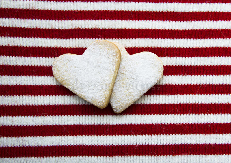 Happy Valentine S Day And Sweets For My Beloved Royalty Free Stock Photos