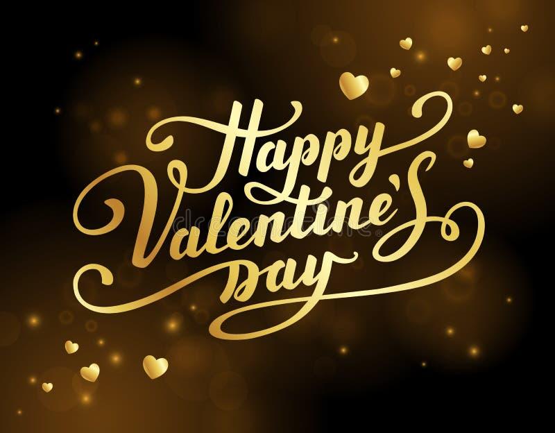 Valentine`s Day greeting card. stock illustration