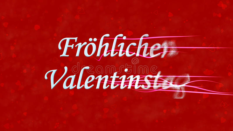 Download Happy Valentineu0027s Day Text In German Frohlichen Valentinstag Turns  To Dust From Right On Red