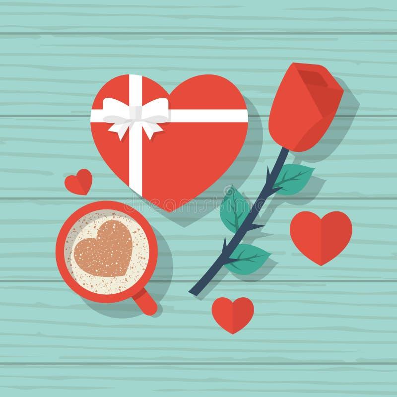Happy Valentine`s Day royalty free illustration