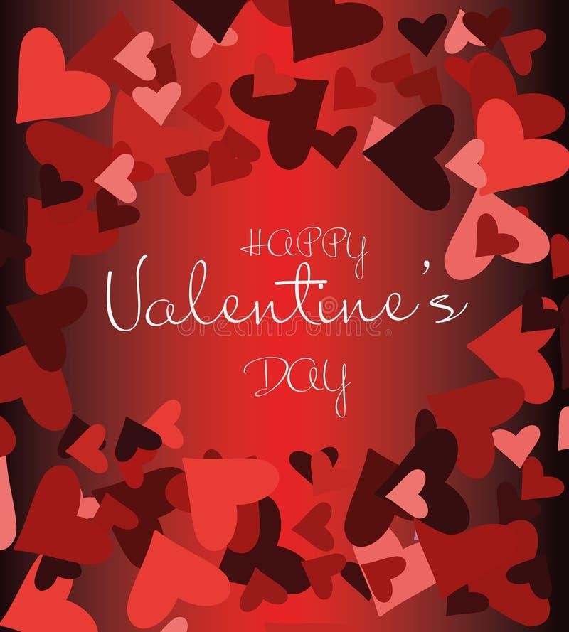 Happy valentine`s day. Vector illustration royalty free illustration