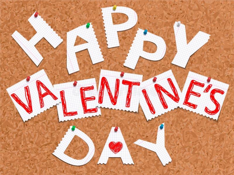 Happy Valentine's Day stock illustration