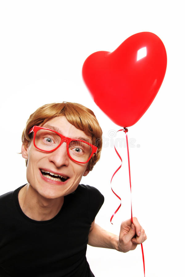Download Happy Valentines stock image. Image of boyfriend, hilarious - 12181537