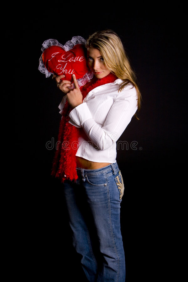 Download Happy Valentines stock image. Image of wish, female, send - 2480083