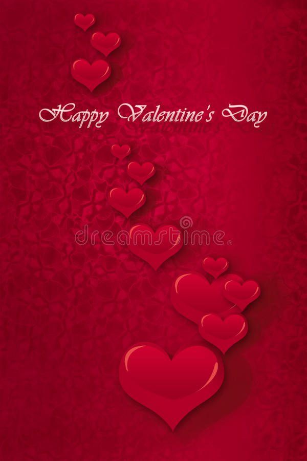 Happy Valentines' Day stock images