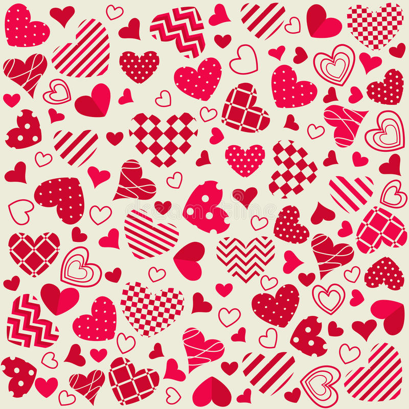 Download Happy valentines day stock vector. Image of dots, happy - 28791447