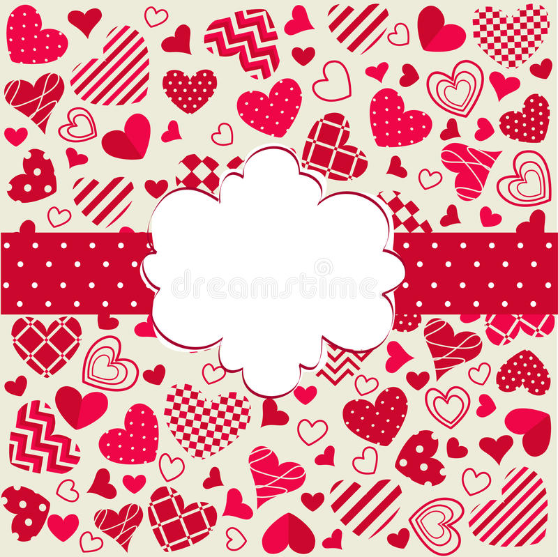 Download Happy valentines day stock vector. Image of happy, greeting - 28942176