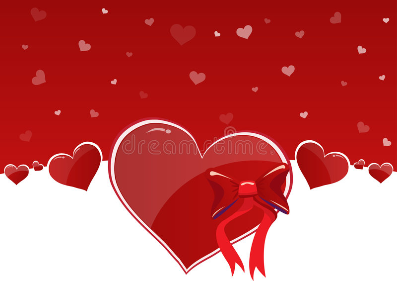 Happy Valentines Day stock illustration