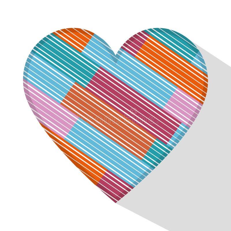Happy valentines day card. Illustration design stock illustration