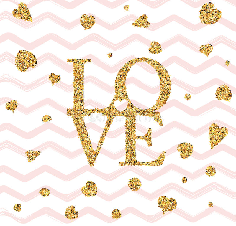 Happy valentines day flyer vector illustration