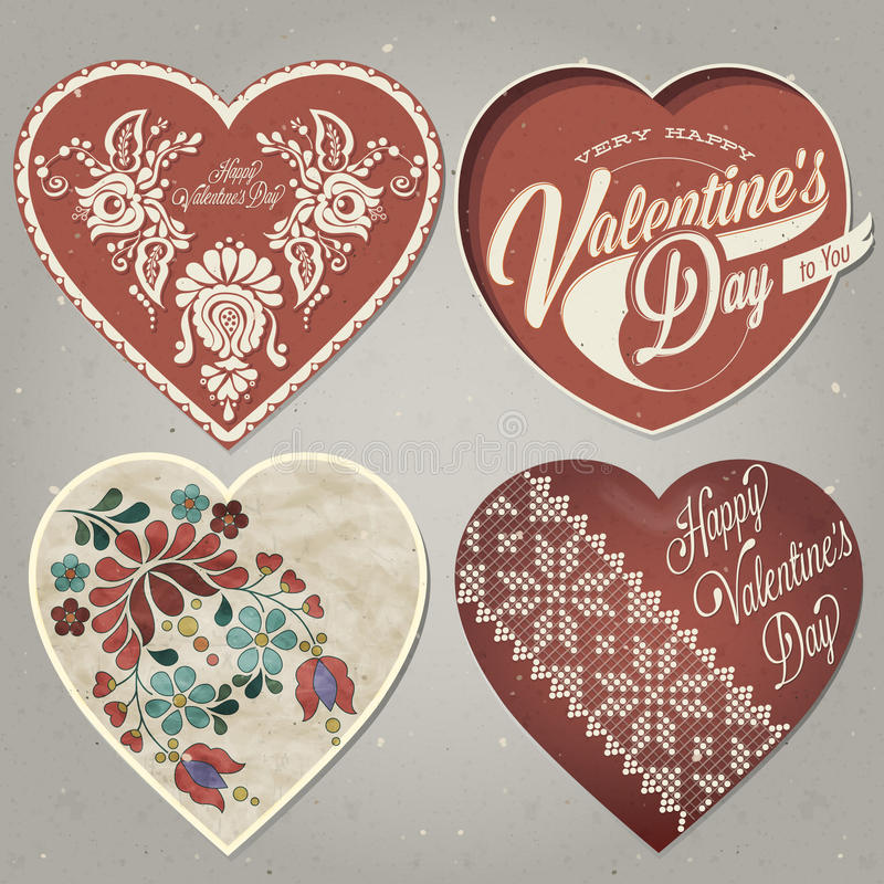 Download Happy Valentines Day. stock vector. Illustration of design - 49502269