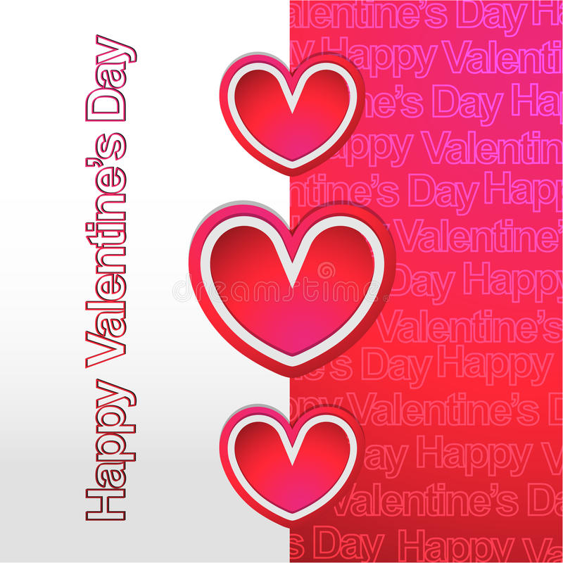 Happy Valentines Day New Modern Background Stock Vector ...