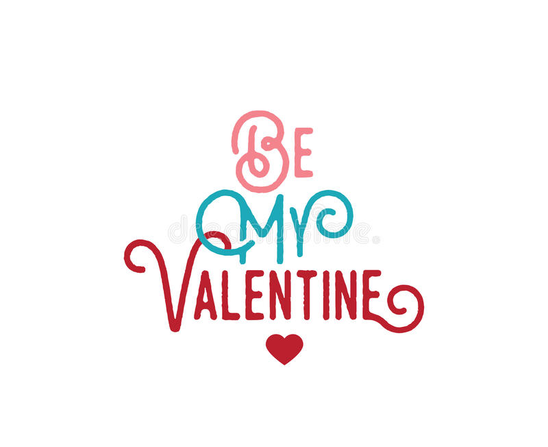 Download Happy Valentines Day Typography. Vector Design. Stock Vector - Image: 83706579