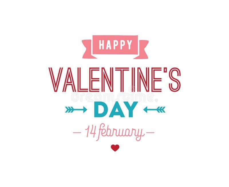 Download Happy Valentines Day Typography. Vector Design. Stock Vector - Image: 83706893