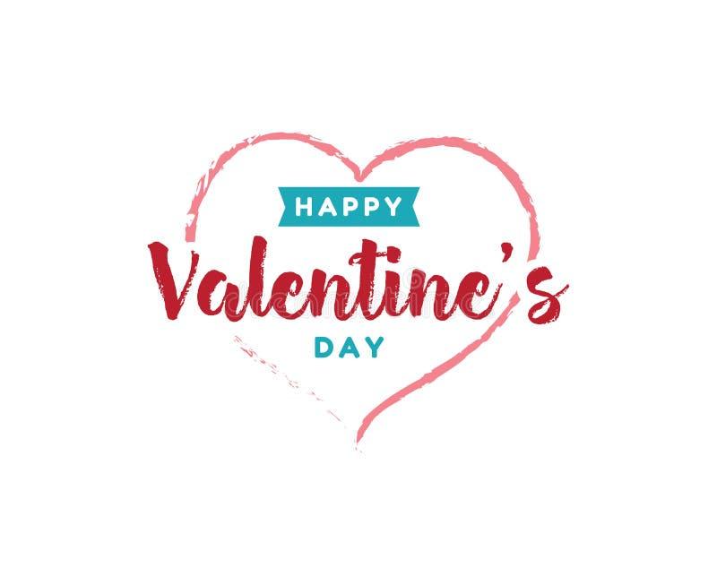 Download Happy Valentines Day Typography. Vector Design. Stock Vector - Image: 83706919