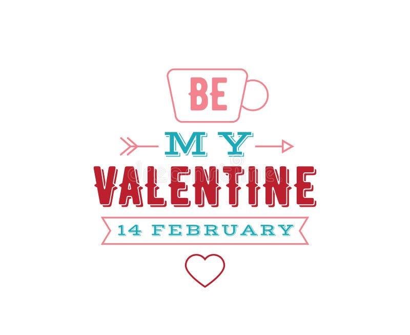 Download Happy Valentines Day Typography. Vector Design. Stock Vector - Image: 83707593