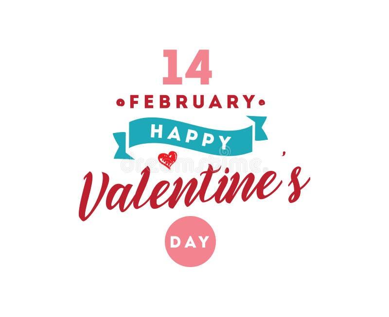 Download Happy Valentines Day Typography. Vector Design. Stock Vector - Image: 83707626
