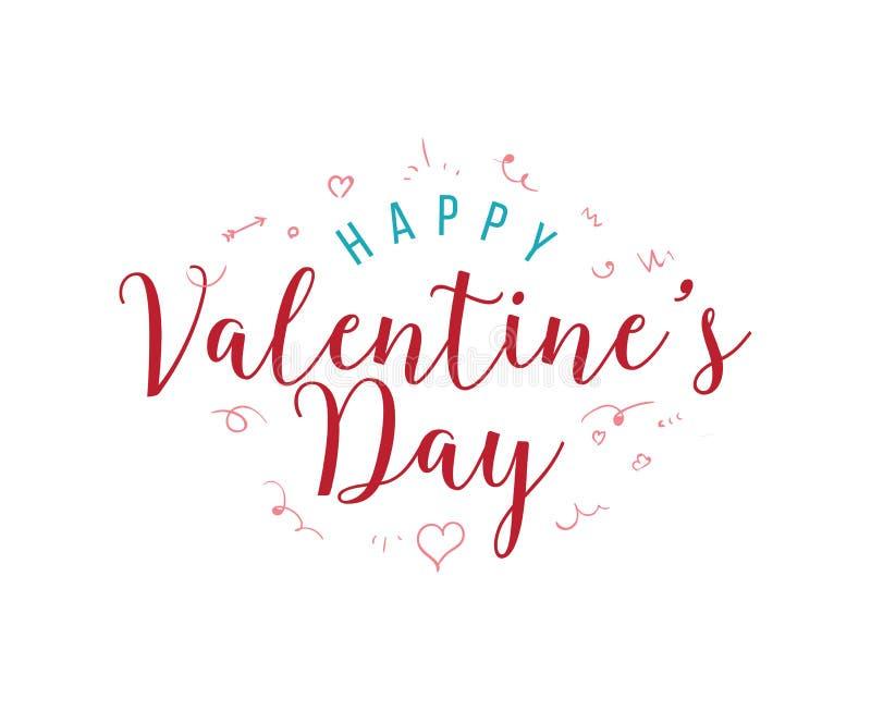 Download Happy Valentines Day Typography. Vector Design. Stock Vector - Image: 83708174