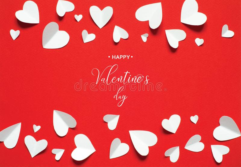 Valentine`s Day greeting card stock photos