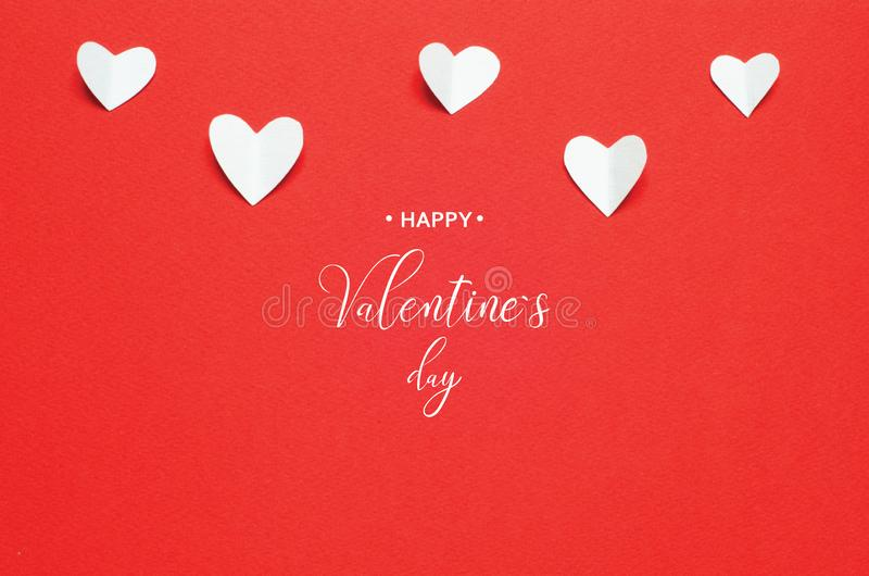 Valentine`s Day greeting card stock images
