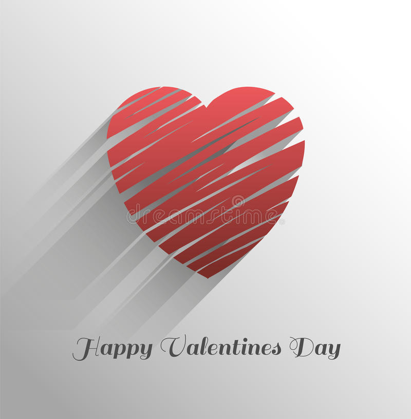 Happy valentines day vector on grey background. Digitally generated Happy valentines day vector on grey background royalty free illustration