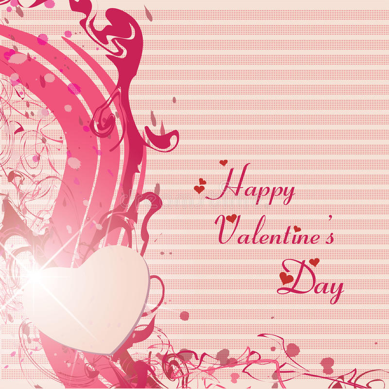 Happy Valentines Day And Wedding Cards Royalty Free Stock