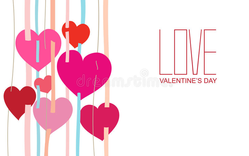 Download Happy valentines day stock vector. Image of card, design - 36445291