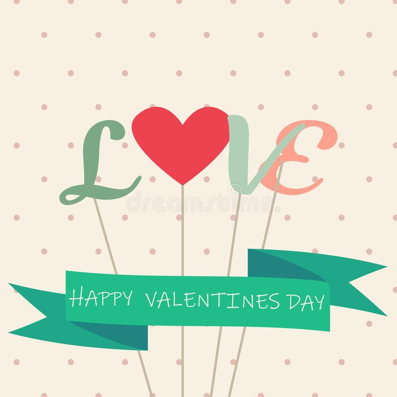 Happy valentines day and weeding cards - Vector - Vector stock illustration