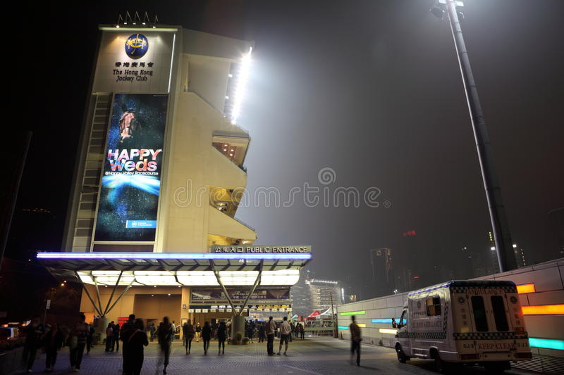Download Happy Valley Racecourse, Hong Kong Editorial Stock Photo - Image: 18275568