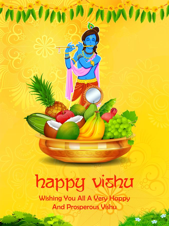 Free Happy Vishu New Year Hindu Festival Celebrated In The Indian State Of Kerala Stock Photos - 144502923