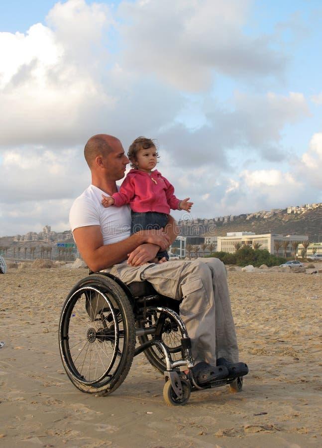 Download Happy Wheelchair Family stock image. Image of happy, gaze - 9768465