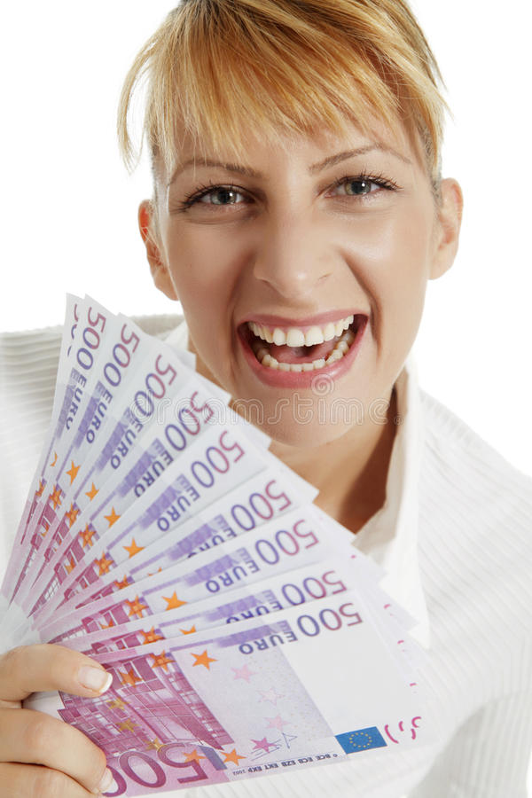 Download Happy winner stock photo. Image of caucasian, businessperson - 12940800