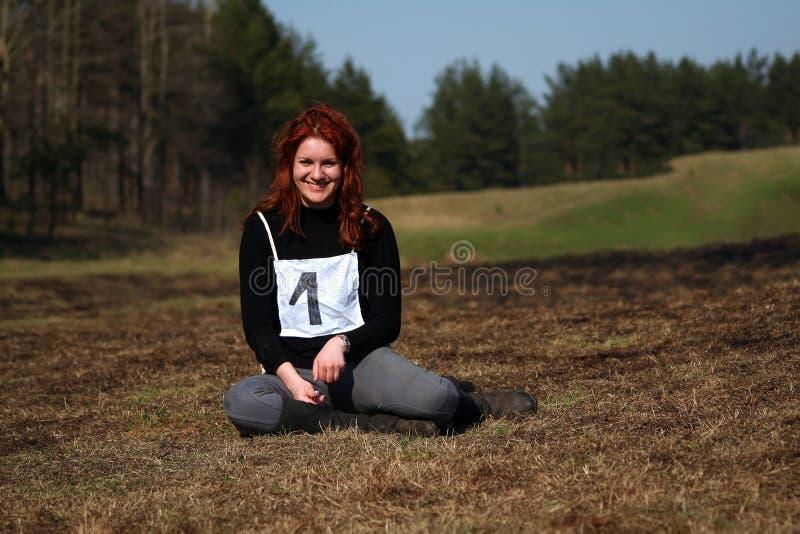 Download Happy winner girl stock image. Image of joyful, free - 18206141