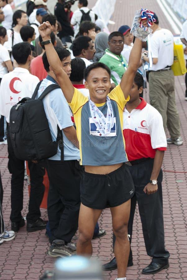 Download Happy Winner KL Marathon editorial image. Image of distance - 20071885