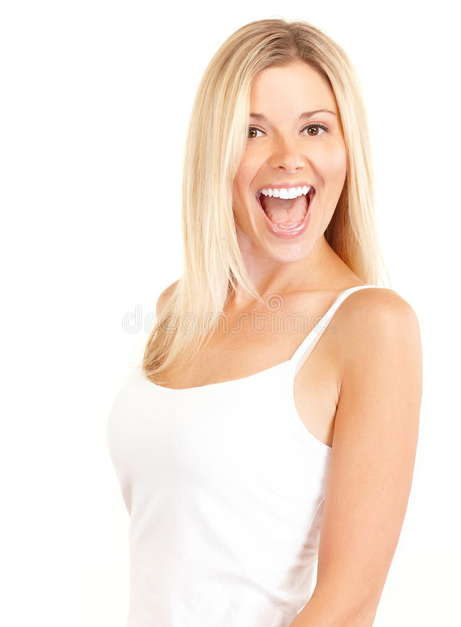 Download Happy woman stock image. Image of face, health, skin - 11376271