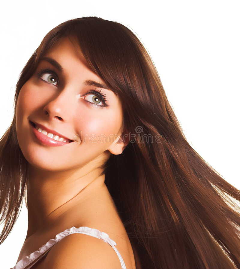 Download Happy woman stock image. Image of lovely, beautiful, people - 2324913