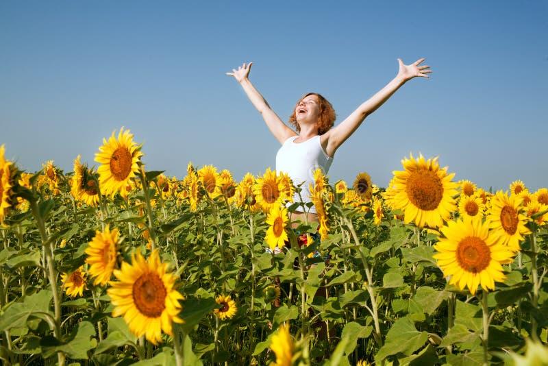Download Happy woman stock image. Image of human, joyful, nature - 24228253