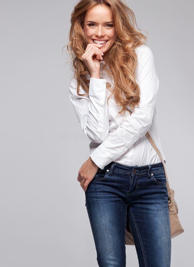 Download Happy woman stock image. Image of portrait, businesswoman - 32249519