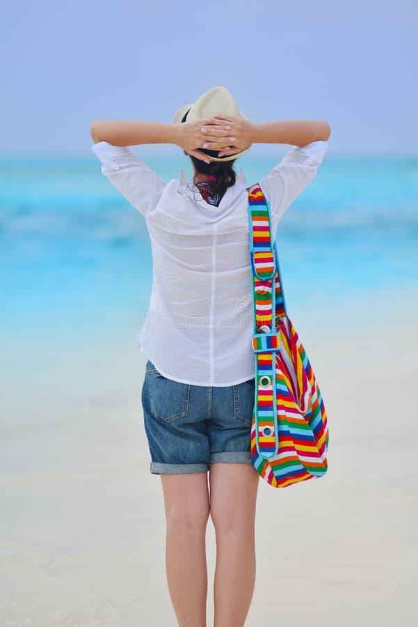 Download Happy Woman Enjoy Summer Vacation Stock Image - Image: 38562393