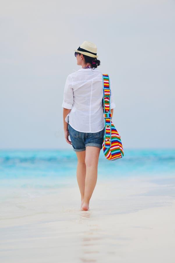 Download Happy Woman Enjoy Summer Vacation Stock Image - Image: 38563635