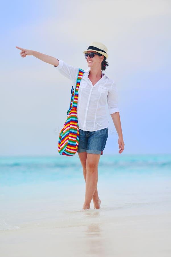 Download Happy Woman Enjoy Summer Vacation Stock Image - Image: 38565459