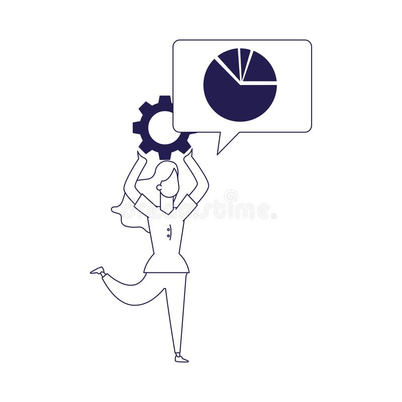Gear Finance Icon Stock Vector. Illustration Of Banking