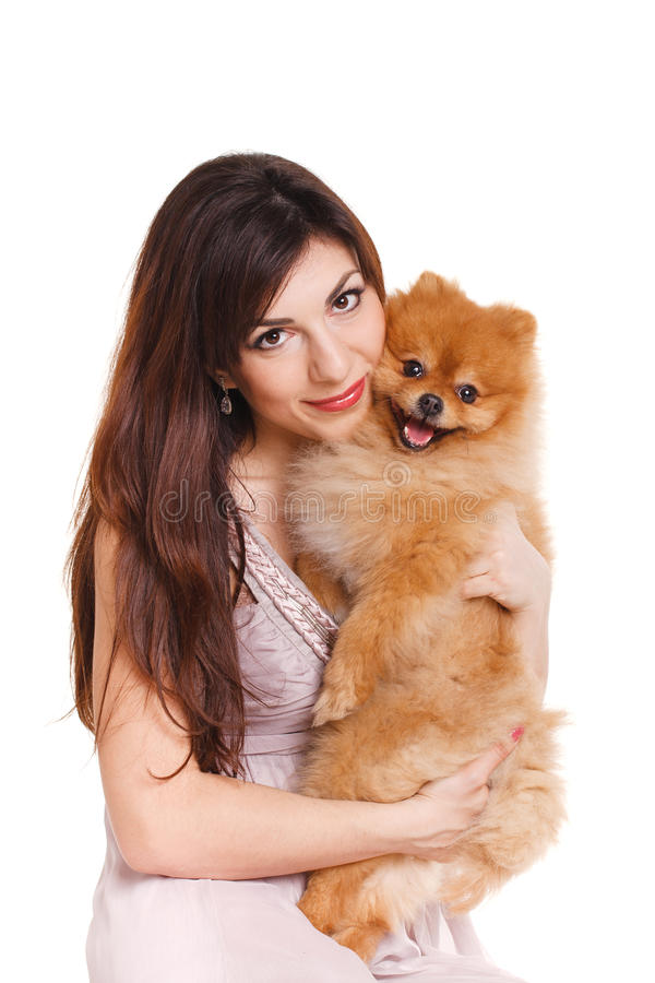 Good Spitz Canine Adorable Dog - happy-woman-her-beautiful-little-red-dog-spitz-over-white-background-close-portrait-isolated-36357205  You Should Have_58868  .jpg
