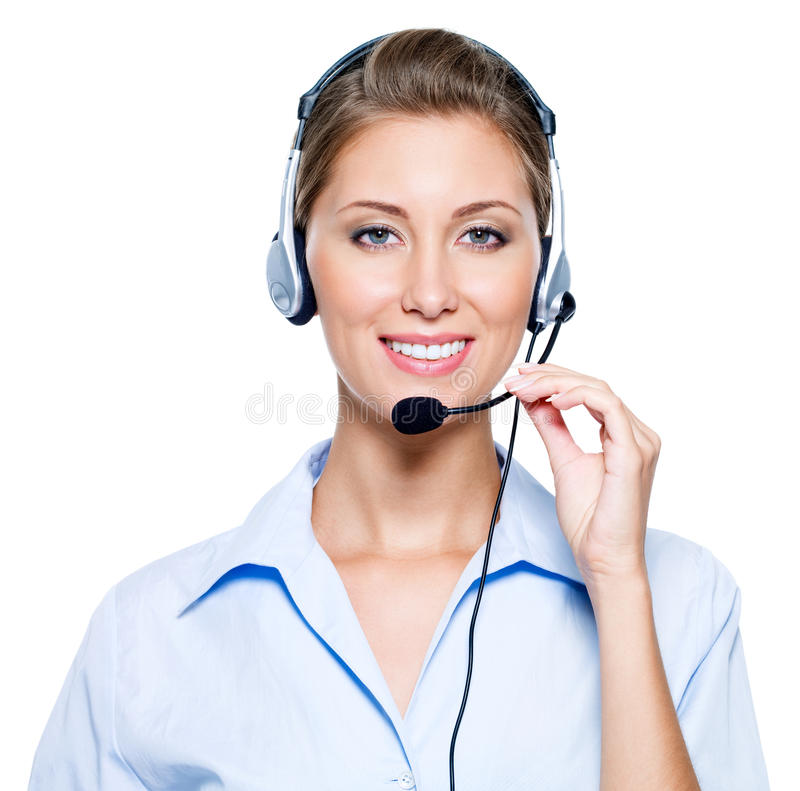Free Happy Woman In Headset Stock Photos - 16151803