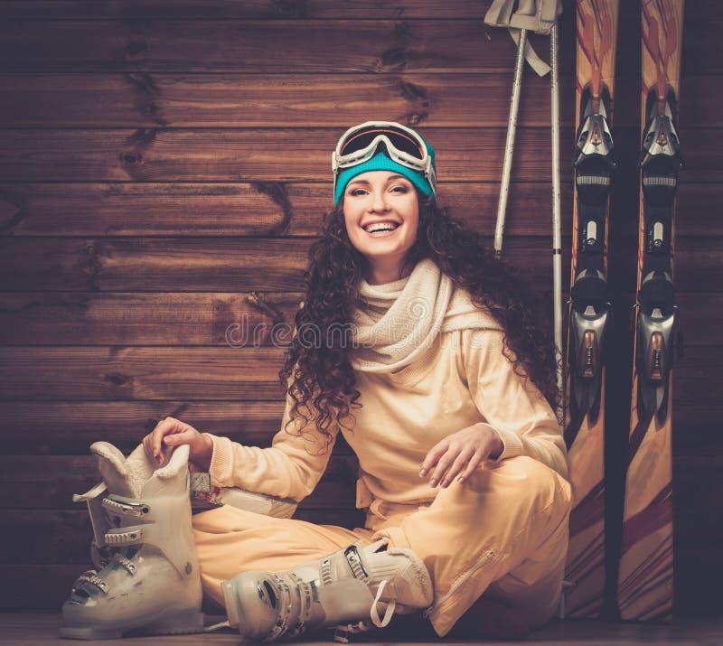 Ski Boots With Skis Stock Image. Image Of Nobody, Couple