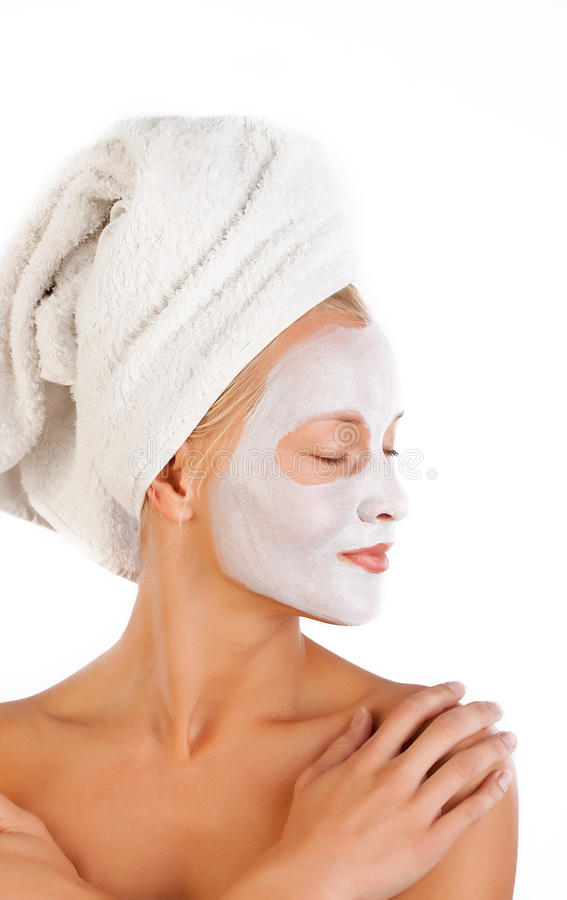 Download Happy woman in Spa stock image. Image of clean, lovely - 13312487