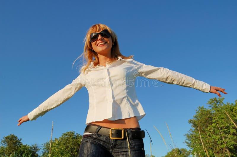 happy woman young στοκ φωτογραφίες με δικαίωμα ελεύθερης χρήσης