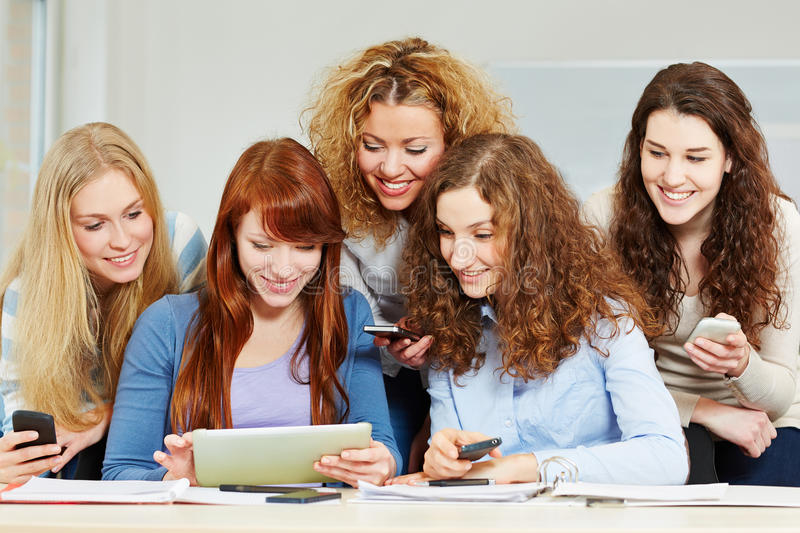Download Women with tablet computer stock image. Image of course - 29831167
