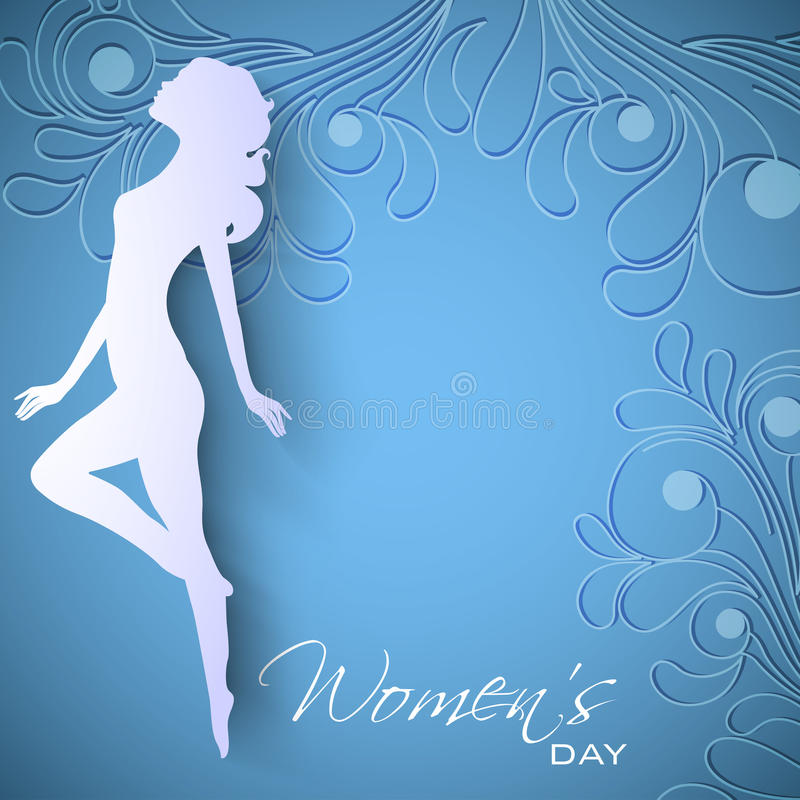 Happy Women S Day Greeting Card Stock Photo